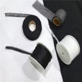 Cintas ranuradas materia textil que interlinean fusibles tejidas poliester del Ep para el collar de la camisa