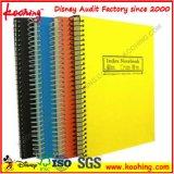 Notepad de poche de prix usine/carnet de notes à spirale du cahier cahier d'agenda/contact de Busniss/pp