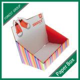 OEMの板紙表紙のボール紙の靴箱の卸売のフォールドの出荷