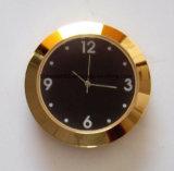 Relojes plateados oro de encargo de la pieza inserta del reloj de cuarzo de Japón mini 65m m