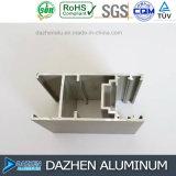 Profil T5 de l'aluminium 6063 pour l'enduit en bronze de poudre anodisé par porte de guichet