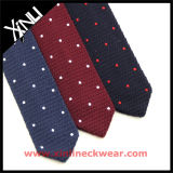 Men's Fashion Silk Atacado China Factory Tricot Polyester Knit Necktie