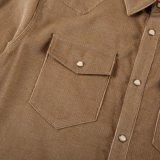 مخمل مضلّع رجال `[س] قميص