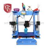 A8 중국 공장 자동 수평 기능을%s 가진 직접 공급 DIY 3D 인쇄 기계