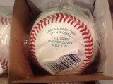 Бейсбол OEM кожаный с подгонянным логосом тавра