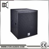 Verdoppeln 18 Zoll Subwoofer Lautsprecher die 1200 Watt-Verein-BaßWoofers