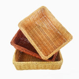 Venta caliente y cesta natural hecha a mano promocional del sauce (BC-ST1234)