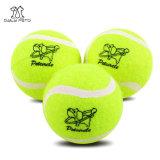 Juguete del perro de juguete de la pelota de tenis del animal doméstico