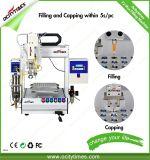 Máquina de enchimento descartável do atomizador do E-Cigarro Cbd do petróleo automático de Ocitytimes com aquecimento de Funtion