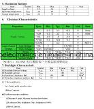 """10.1 """" modules de TFT LCD de 1024X600 RVB Lvds, 50pin pour la position, sonnette, médicale"""