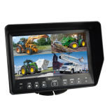 700tvl는 IR 차 Cameras/7 인치 쿼드 분할 화면 모니터를 방수 처리한다