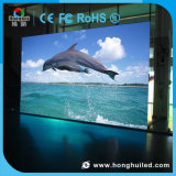 Pantalla de visualización de interior video de alta resolución de LED P3.91 para la barra
