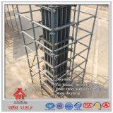 Molde concreto da construção de aço do andaime para o feixe de telhado da coluna da parede da laje