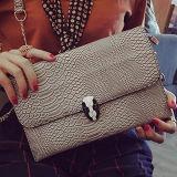 Bourse Sy7660 de créateur de sac d'épaule de configuration de peau de serpent de sac de Madame embrayage