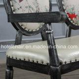 使用される主題のレストランのための中国様式の骨董品の鉄の二重シートの椅子