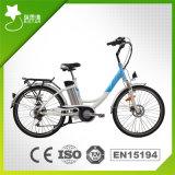 Bicicleta elétrica 26 de '' da cidade clássica 36V 250W