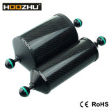 Поддержка плавая рукоятки волокна углерода Hoozhu S22 алюминиевая