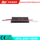 24V-150W 일정한 전압 알루미늄 쉘 방수 LED 전력 공급