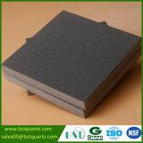 Schwarzer Felsen-Oberflächen-QuarzCountertop für Küche