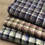 Überprüftes Tweed-Gewebe für Umhüllung, Kleid-Gewebe, Gewebe, Klage-Gewebe