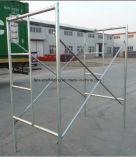 5 ' *4'galvanized 석수는 프레임 비계를 통해서 자물쇠 비계 도보를 짜맞췄다