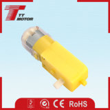 Alto motor plástico del engranaje de la torque 3V para los juguetes robóticos