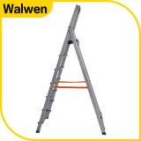Huishouden 6 Stap die de Flexibele Ladder van het Aluminium met SGS Goedkeuring vouwen