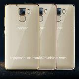 Electroplated почетность 7 Huawei аргументы за телефона TPU