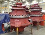 150 Tph hohe Leistungsfähigkeits-hydraulischer Kegel-Zerkleinerungsmaschine-Preis (GPY100S)