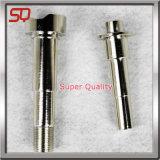 CNC di alta precisione che gira le parti dell'acciaio inossidabile