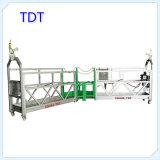 Matériel bon marché Zlp630 de levage de gondole de construction de Tdt