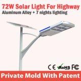 Rue solaire de la haute énergie DEL pour le projet de gouvernement