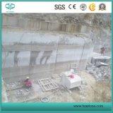 Weißer hölzerner Korn-Marmor, weiße Serpeggiante Marmorplatte u. Fliesen