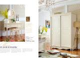 De zuivere Witte Houten Reeks van de Slaapkamer van de Stijl van het Land van het Meubilair Moderne (A101)