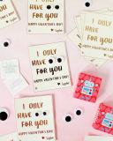 Алюминиевая фольга фольги передачи тепла штемпелюя фольги серебряного цвета золота горячая на карточке благословением карточки подарка поздравительной открытки для супруга/супруги