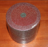 Disque de sablage de fibre d'oxyde d'aluminium pour le métal