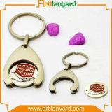 Keyholderの熱い販売のトロリー硬貨