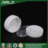 30g 1oz Luxux-pp. Plastiksahneglas des doppel-wandigen Oblate Form-Plastikglas-leeren Haut-Sorgfalt-Sahne-Glas-Gesichtsschablonen-Behälter-