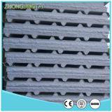 Gewölbte ENV Zwischenlage-Panels der hellen Stahlfarben-