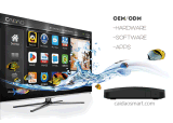Cadre androïde de 6.0/Android7.0 IPTV Ott TV avec Amlogic S905X