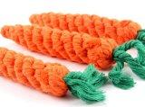 Karotte-Haustier-Seil-Spielwaren für kleinen Haustier-Hund