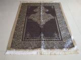 Couvre-tapis de prière de jacquard de Chenille d'utilisation de hadji de la Mecque