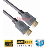 Cable HDMI enchapado en oro con 1.4V Ethernet
