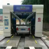 Fábrica limpia de la fabricación del sistema de la lavadora de alta velocidad completamente automática del coche