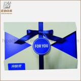 Kreativer weißer achteckiger Papierkasten des geschenk-2016 mit Seil