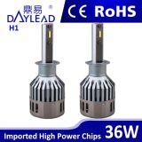 36W de LEIDENE van de Toebehoren van de auto H1 3600lm Lichte Koplamp van de Auto