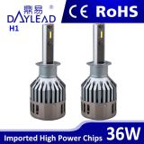 faro dell'indicatore luminoso dell'automobile del chip incluso 36W H1 3600lm LED