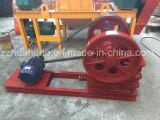 Trituradora de piedra aprobada del Ce mini, el PE 250*400, lista de precios de la trituradora de la roca de la trituradora de quijada del PE 150*250