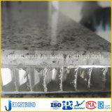 Guter Entwurfs-Marmor-Stein-Aluminiumbienenwabe-Panel für Baumaterialien