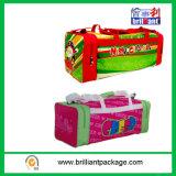 Kundenspezifische materielle Arbeitsweg-Beutel für frohe Weihnachten